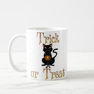 Trick or Treat Kitty Coffee Mug