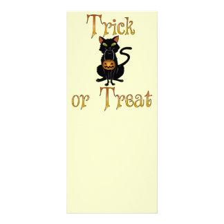 Trick or Treat Kitty Rack Card