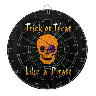 Trick or Treat like a Pirate Dart Boards