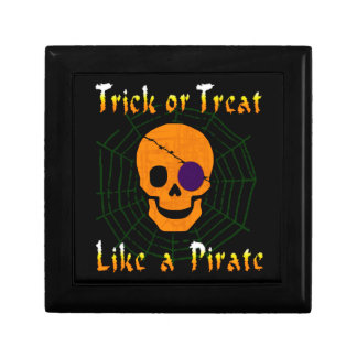 Trick or Treat like a Pirate Jewelry Box