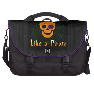 Trick or Treat like a Pirate Bag For Laptop