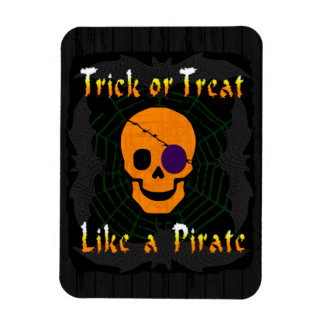 Trick or Treat like a Pirate Magnet