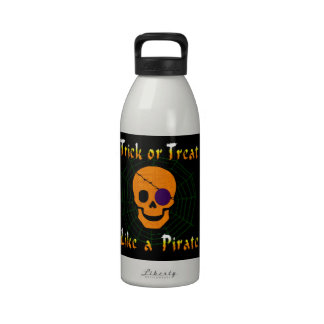 Trick or Treat like a Pirate Drinking Bottle