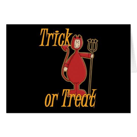 Trick or Treat Li'l Devil Card