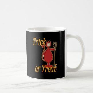 Trick or Treat Li'l Devil Classic White Coffee Mug