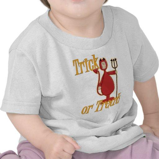 Trick or Treat Li'l Devil Tee Shirts
