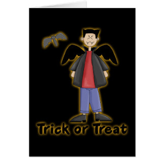 Trick or Treat Little Vampire Card