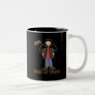 Trick or Treat Little Vampire Coffee Mug