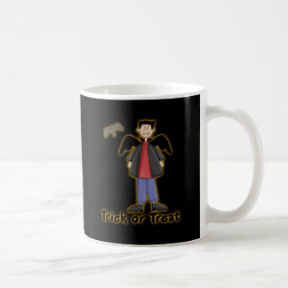 Trick or Treat Little Vampire Coffee Mug