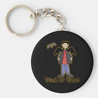 Trick or Treat Little Vampire Keychain