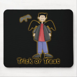 Trick or Treat Little Vampire Mouse Pad