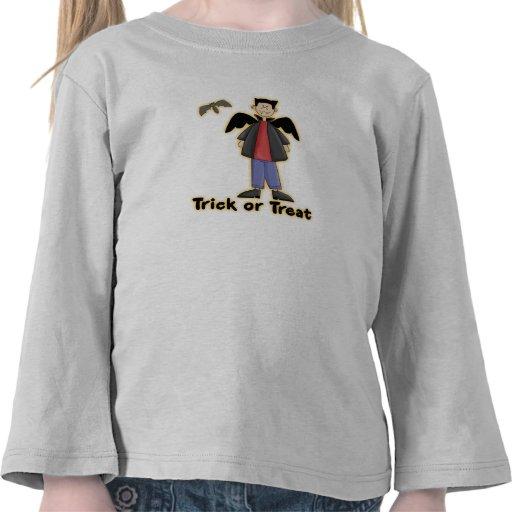 Trick or Treat Little Vampire Tshirts