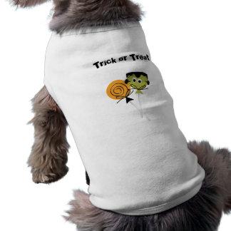 Trick or treat lolli pop Pet T-Shirt