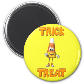 trick.or.treat 2 inch round magnet