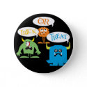 Trick or Treat Monster button