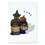 "Trick Or Treat Monsters 5"" X 7"" Invitation Card"