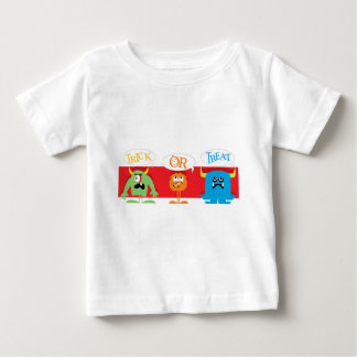 Trick or Treat Monsters Baby T-Shirt