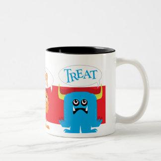 Trick or Treat Monsters Coffee Mug