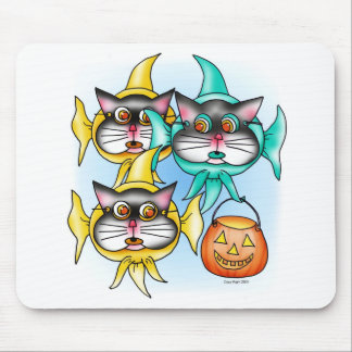 Trick Or Treat Mouse Pad