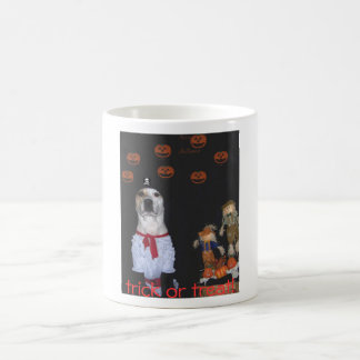 , trick or treat! mug