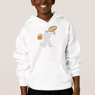 Trick Or Treat Mummy Halloween Hoodie