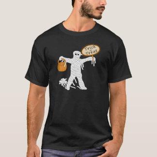 Trick Or Treat Mummy Halloween T-Shirt