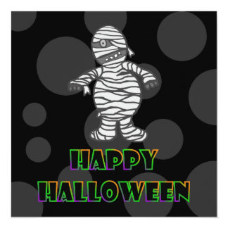 Trick Or Treat: Mummy Party Invitation