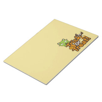 Trick or Treat notepad