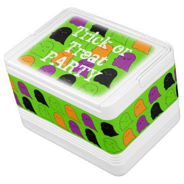 Halloween Themed Trick or Treat Party Ghost Igloo Cooler