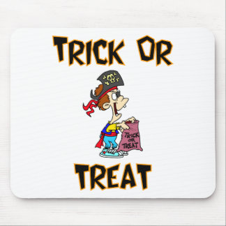 Trick Or Treat (Pirate Costume) Mouse Pad