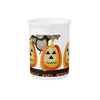 Trick Or Treat Beverage Pitchers