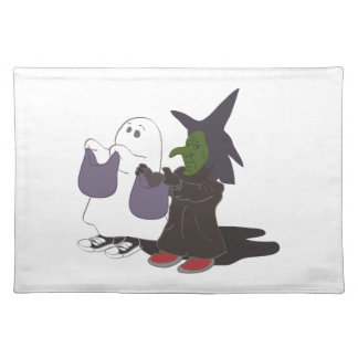 trick Or treat Cloth Placemat