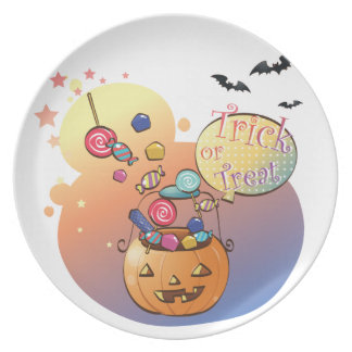 Trick or Treat Plates