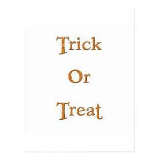 Trick or Treat! Postcard