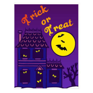 Trick or Treat Postcards