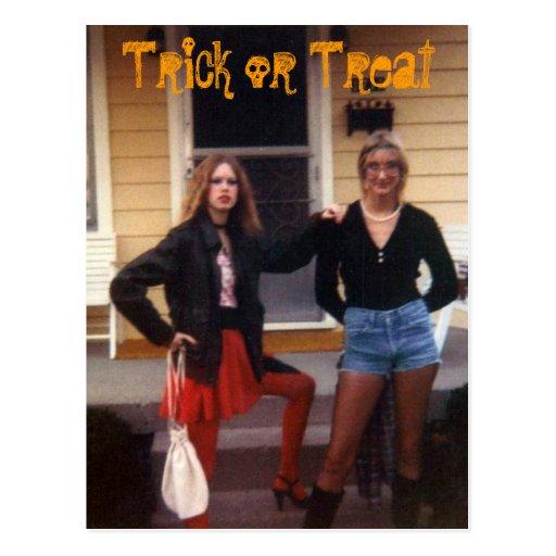 Trick or Treat Postcards