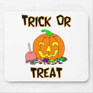 Trick Or Treat (Pumpkin And Candy) Mouse Pad