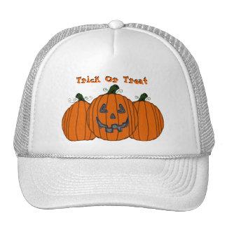 Trick or Treat Pumpkin Hat