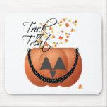 Trick Or Treat Pumpkin Mousepad