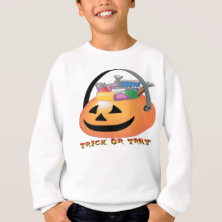 Trick or Treat Pumpkin Sweatshirt
