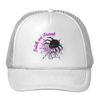 trick or treat (purple) trucker hat