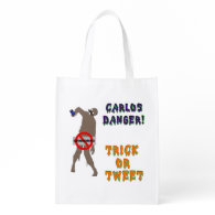 Trick or Treat Reusable Grocery Bag