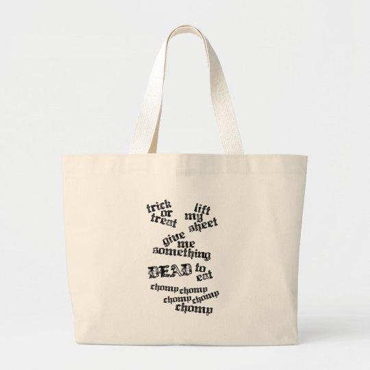 Trick or Treat Rhyme Bag