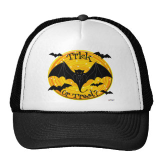 Trick Or Treat? Scary Bats Mesh Hats