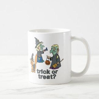 Trick Or Treat Scene Mugs