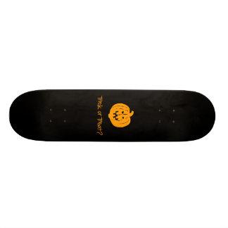 Trick or Treat? Skate Deck