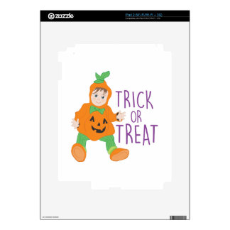 Trick Or Treat Skins For iPad 2