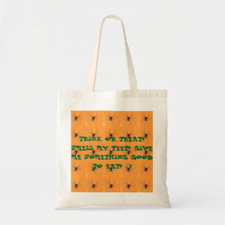 TRICK OR TREAT! SMELL MY FEET! CANVAS BAGS