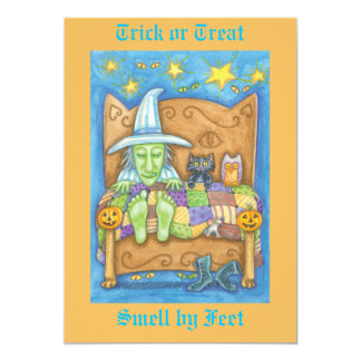 Trick or Treat - Smell my feet Card
