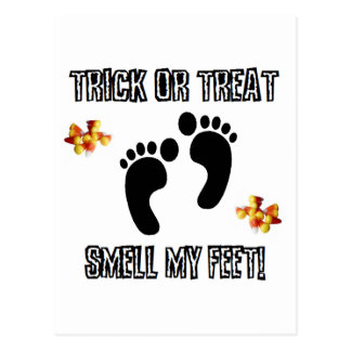 Trick Or Treat, Smell My Feet Postcard